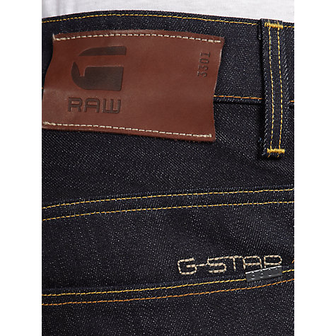 Buy G-Star Raw 3301 Low Tapered Jeans, Raw Online at johnlewis.com