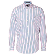 Buy Gant Poplin Stripe Long Sleeve Shirt Online at johnlewis.com