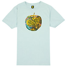 Buy Pretty Green Camo Apple Print T-Shirt Online at johnlewis.com