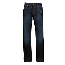 Buy G-Star Raw 3301 Lexicon Straight Fit Jeans, Indigo Aged Online at johnlewis.com