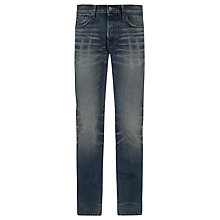 Buy G-Star Dalex Straight Leg Jeans, Medium Aged Online at johnlewis.com