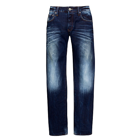 Buy G-Star Raw 3301 Low Tapered Fit Jeans, Medium Aged Online at johnlewis.com