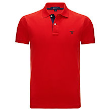 Buy Gant Contrast Collar Polo Top Online at johnlewis.com