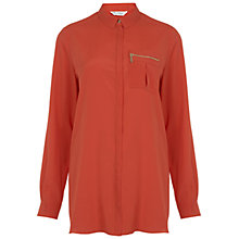 Buy Miss Selfridge Zip Pocket Shirt Online at johnlewis.com