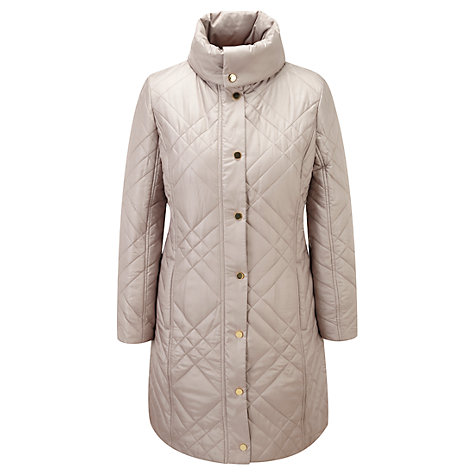 Buy Viyella Quilt Parka, Neutrals Online at johnlewis.com