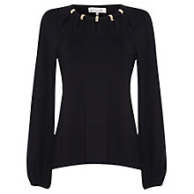 Buy Damsel in a dress Memoir Top, Black Online at johnlewis.com