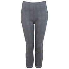 Buy Miss Selfridge Check Treggings, Mid Grey Online at johnlewis.com