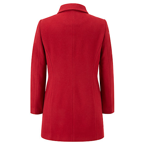 Buy Viyella Petite Car Coat, Red Online at johnlewis.com