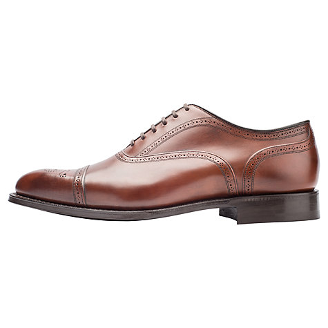 Buy Church's Burtstock Flexi Sole Leather Brogues, Brown Online at johnlewis.com