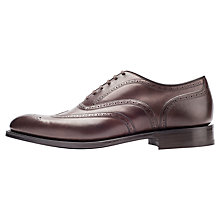 Buy Church's Burton Flexi Sole Leather Brogues, Brown Online at johnlewis.com
