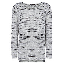 Buy Mango Chunky Knit Jumper, Black Online at johnlewis.com