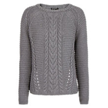 Buy Mango Cable-Knit Cotton Jumper Online at johnlewis.com