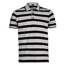 Buy Boss Black Firenze Block Stripe Polo Shirt Online at johnlewis.com