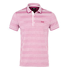 Buy Boss Black Firenze Tonal Stripe Polo Shirt Online at johnlewis.com