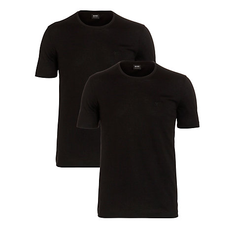Buy BOSS Twins Logo Crew Neck T-Shirt, Pack of 2 Online at johnlewis.com