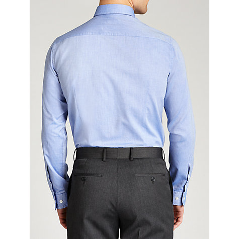 Buy BOSS Sven Button Down Oxford Long Sleeve Shirt, Light Blue Online at johnlewis.com