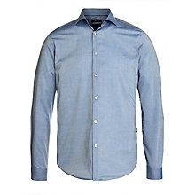 Buy Boss Black Nemos Long Sleeve Shirt, Blue Online at johnlewis.com