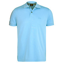 Buy BOSS Firenze 2 Button Plain Polo Shirt Online at johnlewis.com