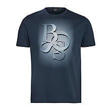 Buy BOSS Terni Print Crew Neck T-Shirt Online at johnlewis.com