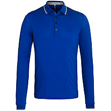 Buy BOSS Lesona Long Sleeve Polo Shirt Online at johnlewis.com