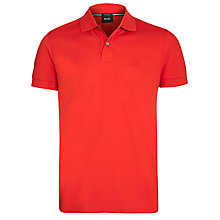 Buy Boss Black Firenze 2 Button Plain Polo Shirt Online at johnlewis.com