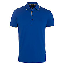 Buy BOSS Firenze 4 Button Contrast Tipped Polo Shirt Online at johnlewis.com