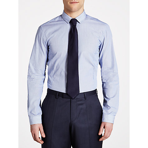 Buy BOSS Romano Striped Long Sleeve Shirt Online at johnlewis.com