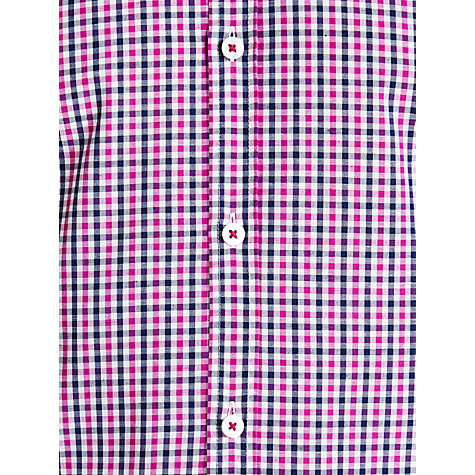 Buy BOSS Luca Check Short Sleeve Shirt Online at johnlewis.com