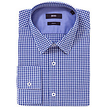 Buy Boss Black Ronny Gingham Check Shirt Online at johnlewis.com