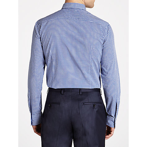 Buy BOSS Ronny Gingham Check Long Sleeve Shirt Online at johnlewis.com
