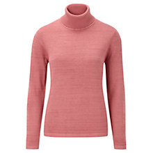 Buy Viyella Roll Neck Jumper, Rose Online at johnlewis.com