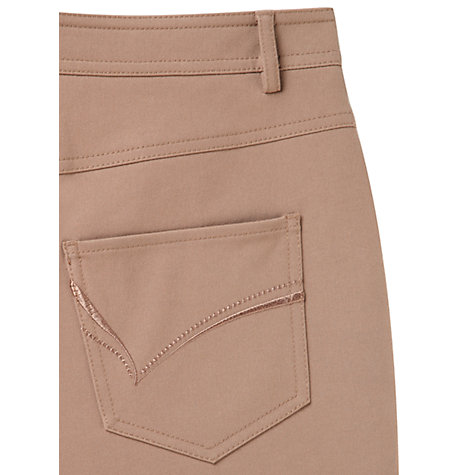 Buy Viyella Smart Jeans, Taupe Online at johnlewis.com