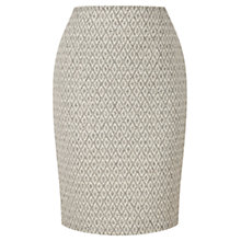 Buy Viyella Jacquard Pencil Skirt, Ivory Online at johnlewis.com