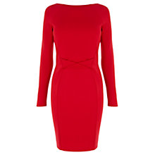 Buy Coast Larnaca Dress, Red Online at johnlewis.com