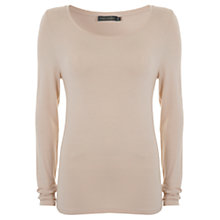 Buy Mint Velvet Long Sleeve Modal T-Shirt Online at johnlewis.com