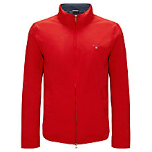 Buy Gant Mid Length Jacket, Red Online at johnlewis.com