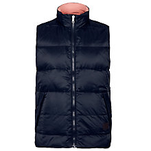 Buy Gant Reversible Puffer Gilet, Navy Online at johnlewis.com