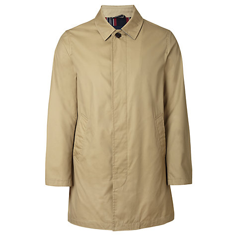 Buy Gant Cotton Raincoat, Khaki Online at johnlewis.com