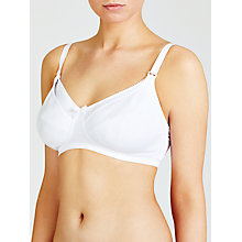 Buy John Lewis Maternity Bra, Pack of 2, Black / White Online at johnlewis.com