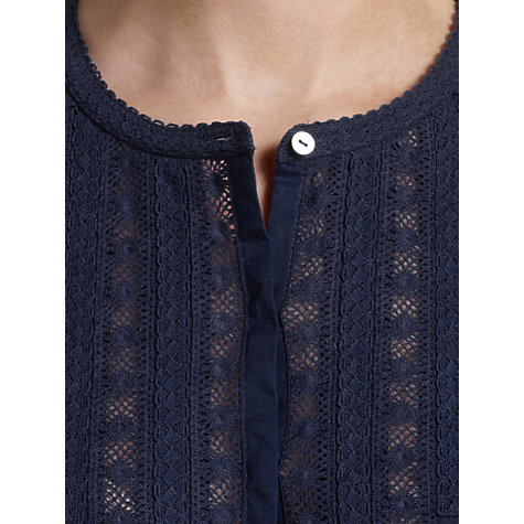 Buy Somerset by Alice Temperley Lace Cotton Voile Blouse Online at johnlewis.com
