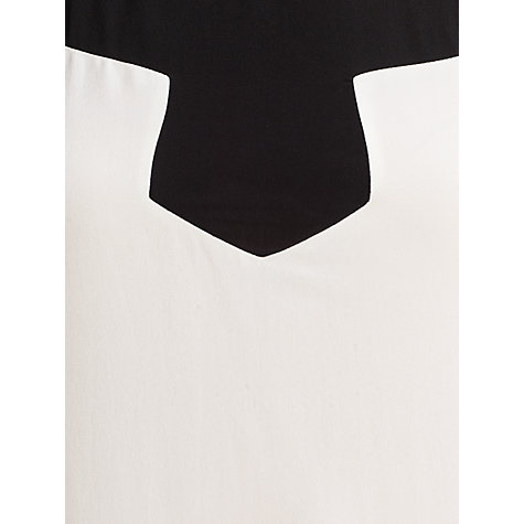 Buy Somerset by Alice Temperley Monochrome Blouse, Cream Online at johnlewis.com