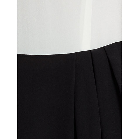 Buy Somerset by Alice Temperley Monochrome Dress, Cream/Black Online at johnlewis.com