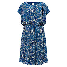 Buy Kin by John Lewis Tornado Print Dress, Blue Online at johnlewis.com