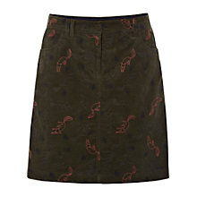 Buy White Stuff Foxtrot Skirt, Dark Field Green Online at johnlewis.com