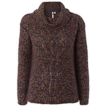 Buy White Stuff Frasier Jumper, Tree Brown Online at johnlewis.com