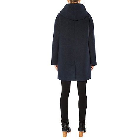 Buy Hobbs Lucian Duffle Coat, Maritime Blue Online at johnlewis.com