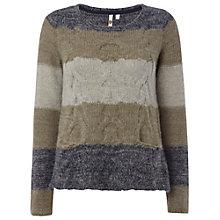 Buy White Stuff Petersburg Jumper, Green Online at johnlewis.com