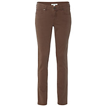 Buy White Stuff Sorell Straight Leg Jeans, Brown Online at johnlewis.com