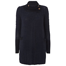 Buy White Stuff Long Town and Country Cardigan, Blue Online at johnlewis.com