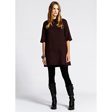 Buy Mint Velvet Knitted Dress Online at johnlewis.com